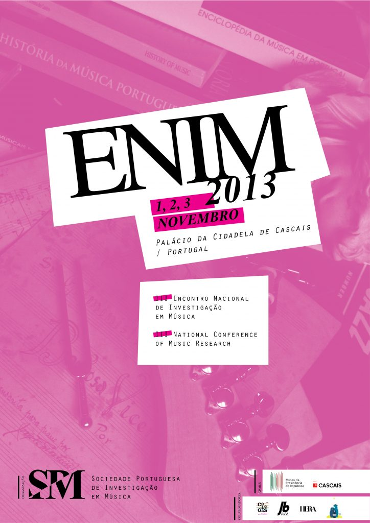 Cartaz ENIM 2013 - Cascais