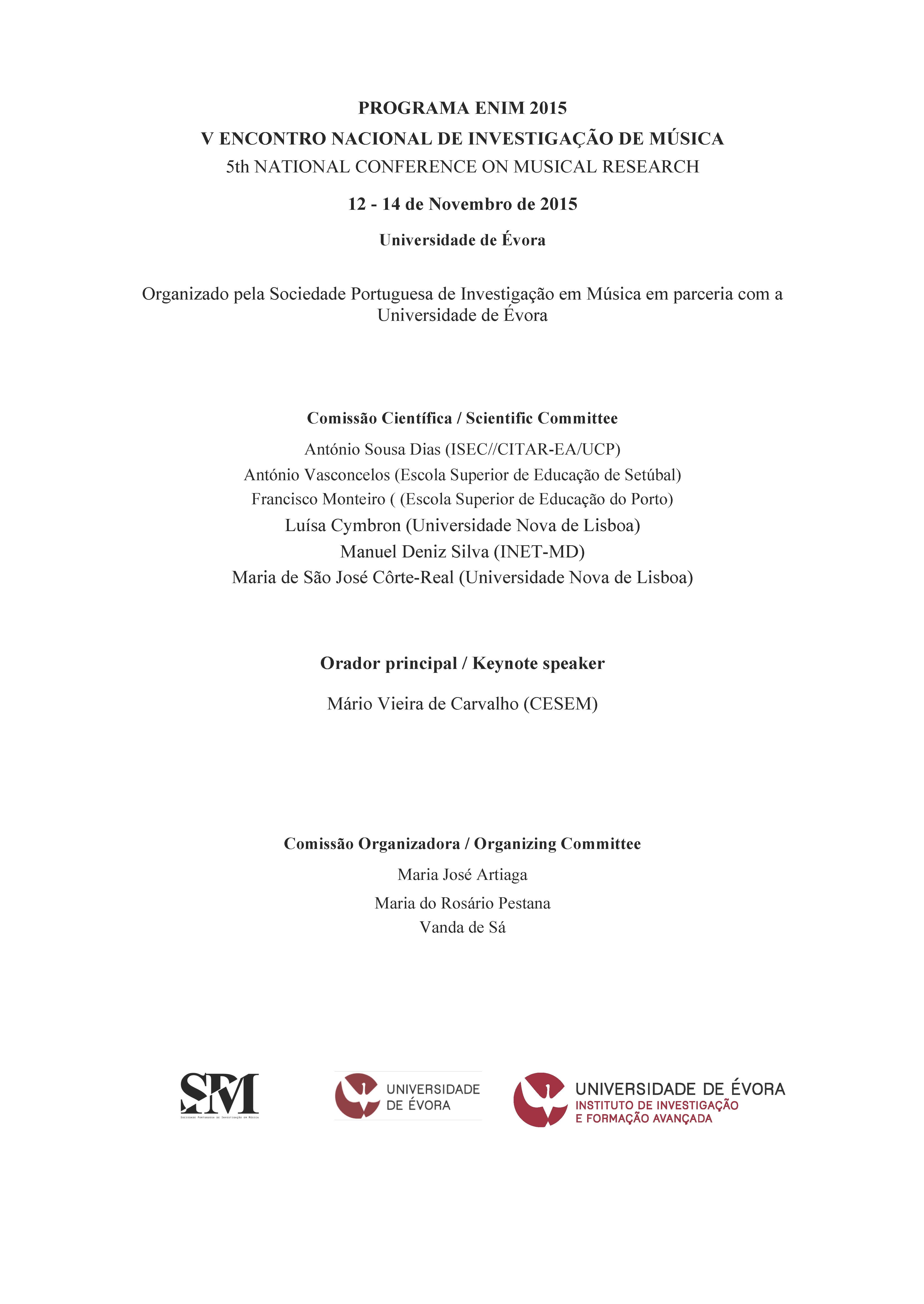 ENIM Programa 2015 - 1ª página