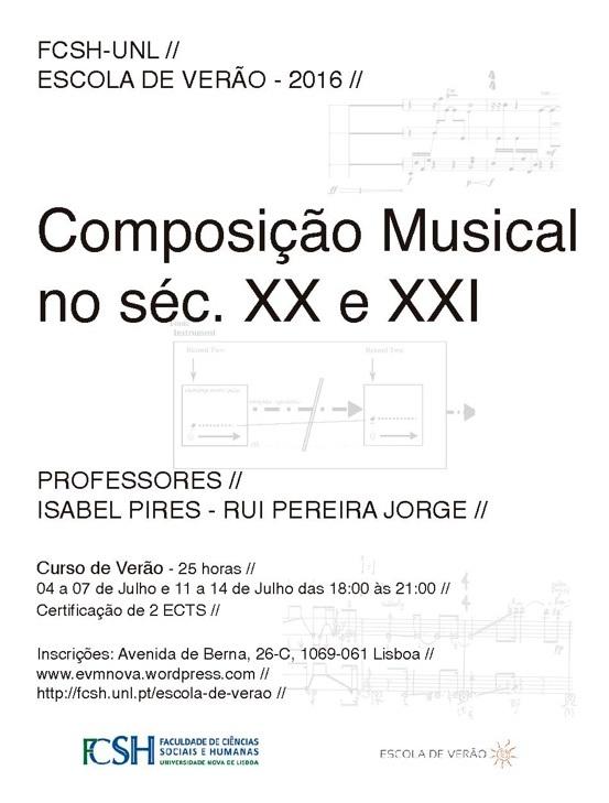 Escola de Verão - Isabel Pires e Rui Pereira Jorge